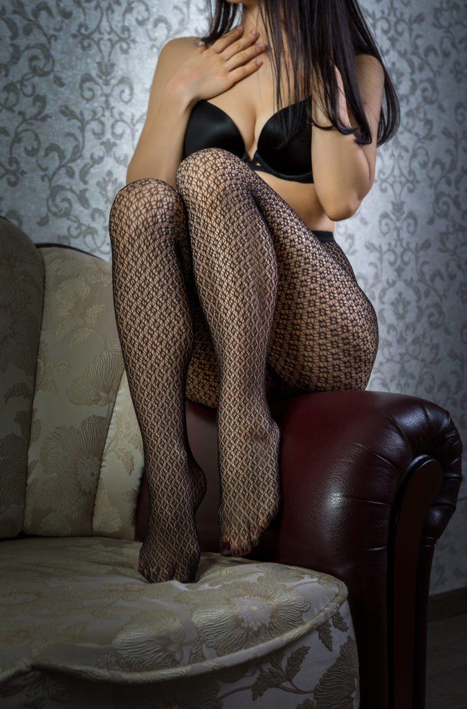 Sexy lady in sexy pantyhose