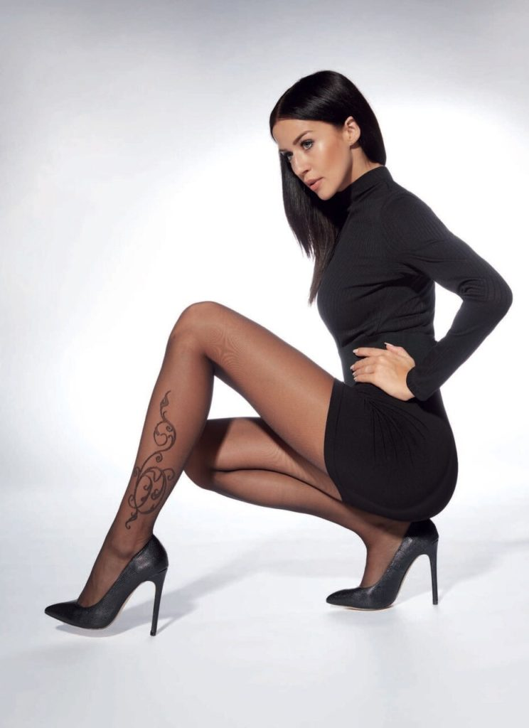 Arlette Patterned Tights